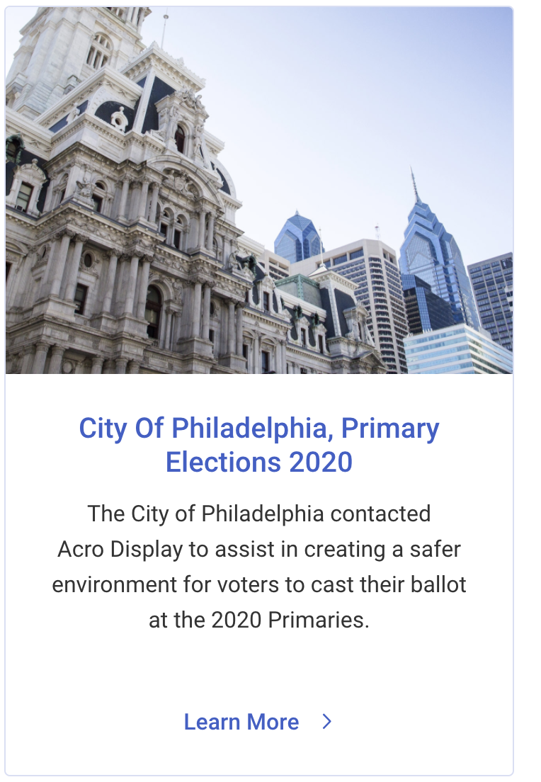 City of Philadelphia Election Primary
